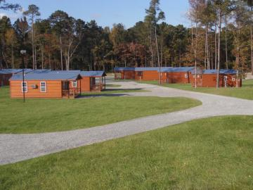 cabins at campground