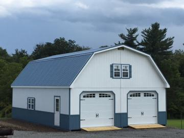 28x40 2 story gambrel garage