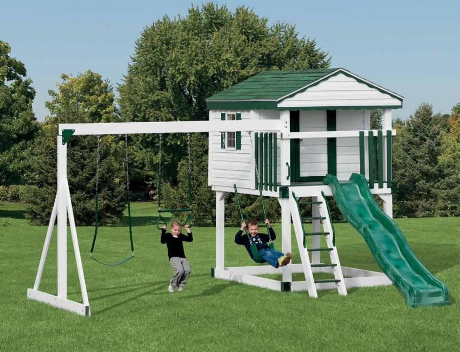 Vinyl Swingsets Rocky Mountain Sheds