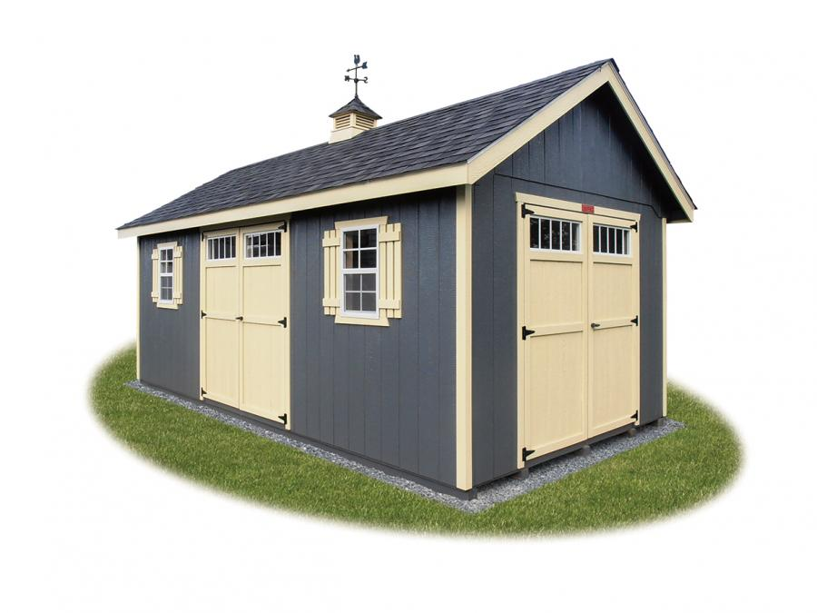 Cape Cod Shed