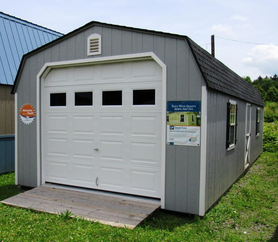 14x32 Dutch Barn Garage