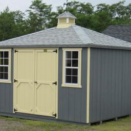 10x12 hip roof shed