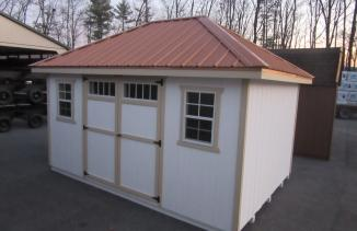 10x14 Hip Roof Shed