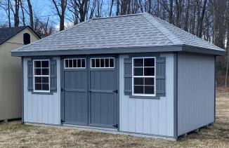 10x16 Hip Roof Shed